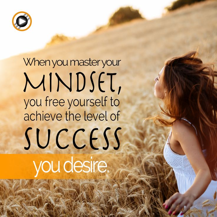 Work on your mindset to reach your own success! #success #inspiration #motivation #mindset
