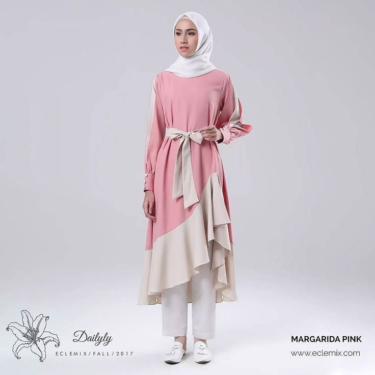 Good morning ladies.. Assalamualaikum.  What Color Goes with Pink? As pale as the softest blush or as bold as the hot fuchsia of a sunset pink makes a powerful statement. Whether pretty preppy or bold and edgy. This time we choose cream for margarida midi. Drop in a comment whether you like it or you have better idea about What Color Goes with Pink? . Now available at :  www.eclemix.com  www.hijup.com Or reach our admin contact at:  line@ : @eclemix  WA : 6281326004010 . Happy shopping…