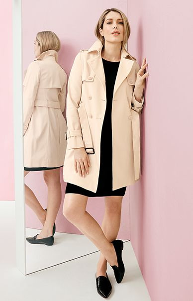 An easy neutral colour trench will be a staple for years to come.