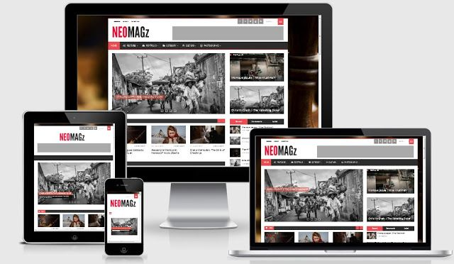 Vikka Fast and Responsive Blogger Template | Template CanDo