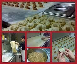My self  and veal tortelloni