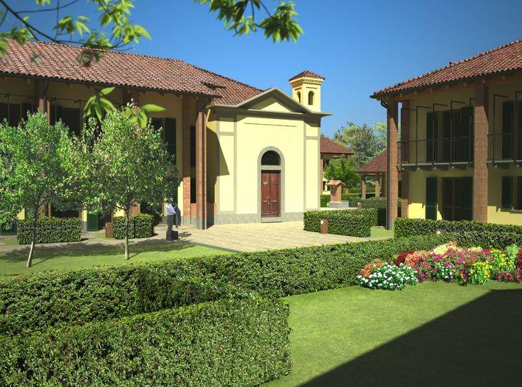 Bernate Ticino (MI) Italy. Project Borgo Rubone by Fabio Carria Architect anno 2007