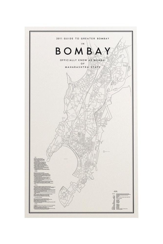 Länna Möbler - Guide to Bombay Affisch från Ehrenstråhle & Wågnert - Länna Möbler - Handla online