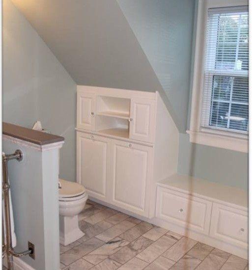 best 25+ sloped ceiling bathroom ideas on pinterest | loft