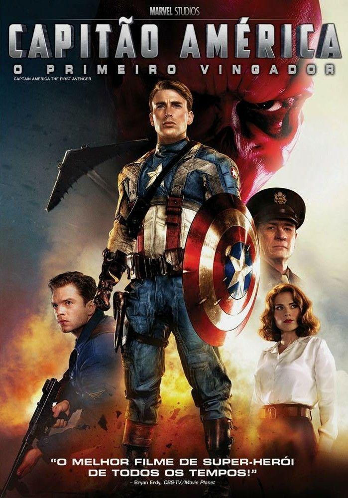 Capitao America O Primeiro Vingador 2011 Capitao America Capitao America Poster Filme Capitao America
