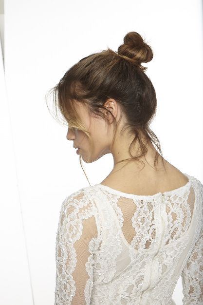 Chignon danseuse #coiffure #mariage