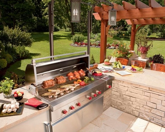 45 Best Luxury Outdoor Kitchens Ideas Images On Pinterest Decks Outdoor Cooking And Outdoor