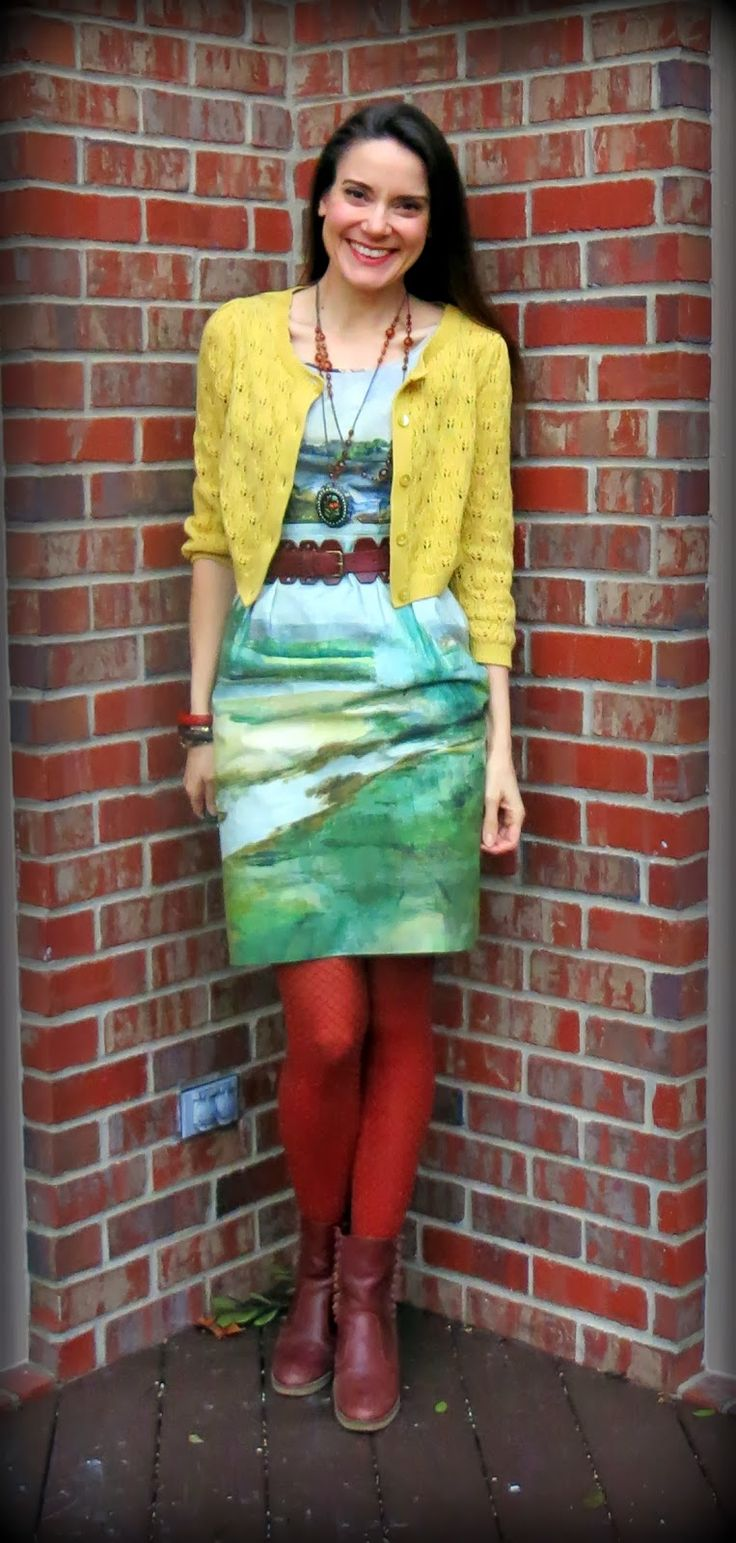 Cassie Stephens: What the Art Teacher Wore #86 and Our Artsy Book of Choice!