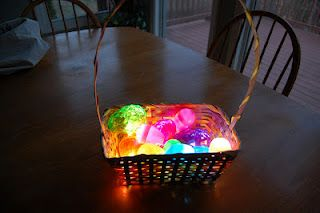 glow in the dark easter egg hunt!! how cuteeeee :) :): Glow Sticks, Plastic Eggs, Idea, Dark Easter, Dark Eggs, Easter Egg Hunt, Easter Eggs Hunt'S, Glow In The Dark, Kid