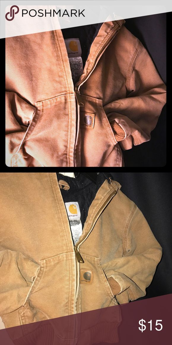 Little boys carhart coat Cute little boys size 6-7 carhart coat . Excellent used condition as my son didn't care for this style coat Carhartt Jackets & Coats Jean Jackets
