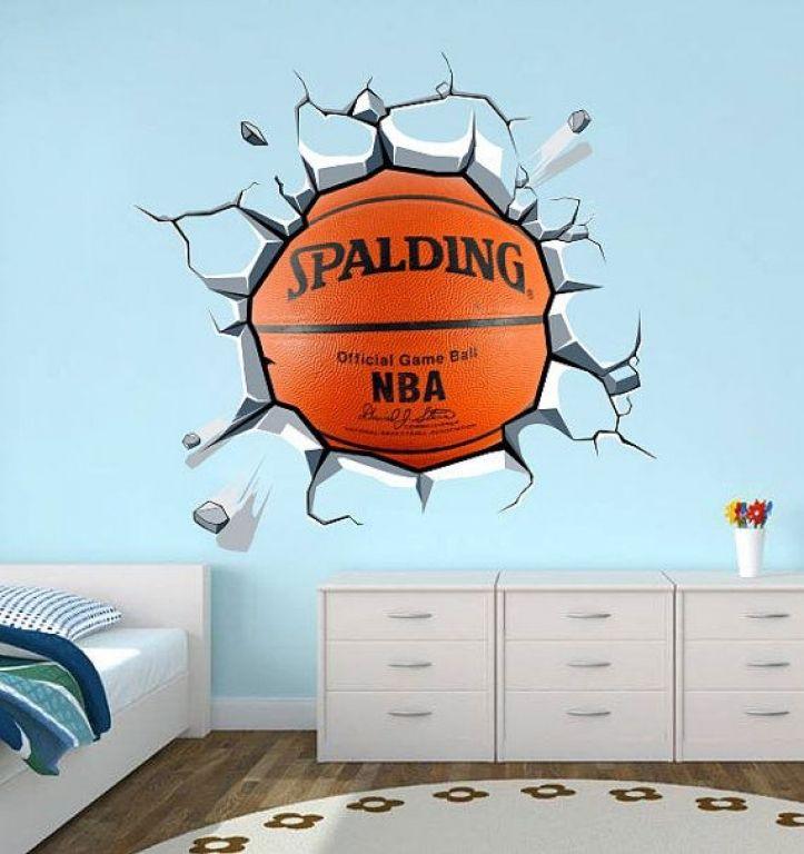 Room Decor Basketball Room Decor Ideas Basketball Themed Bedroom ...