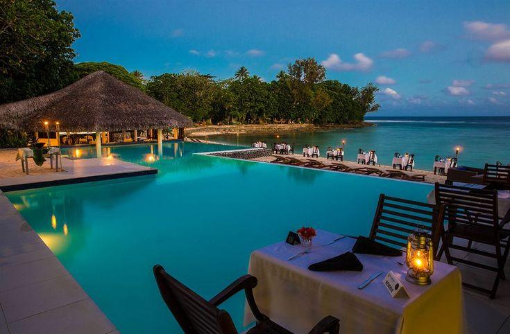Breakas Beach Resort , Vanuatu. Honeymoon destination inspiration from HostCo Sydney wedding venue