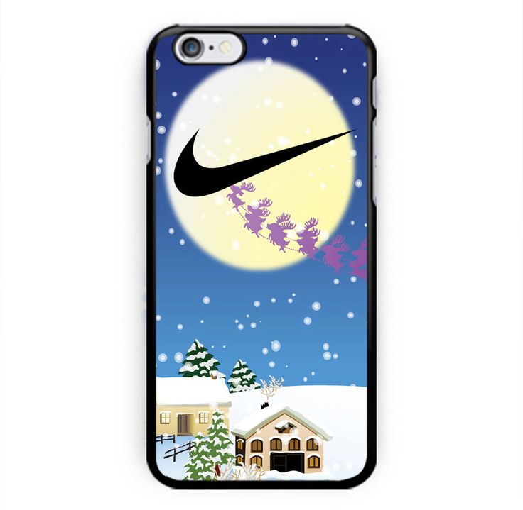 Hot Nike Cartoon Deer Christmas for iPhone 6s, 6s Plus, 7, 7 Plus Black Case #UnbrandedGeneric  #iPhone Case #iPhone #Case #Phone Case #Handmade #Print #Trend #Top #Brand #New #Art #Design #Custom #Hard Plastic #TPU #Best #Trending #iPhone 6 #iPhone 6s #iPhone 7 #iPhone 7s #Nike #Kate Spade