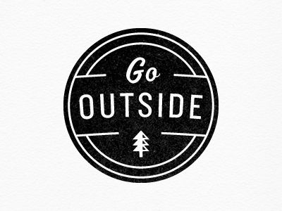 go outside // It's a beautiful Saturday.. Stop worrying about others and take care of yourself!