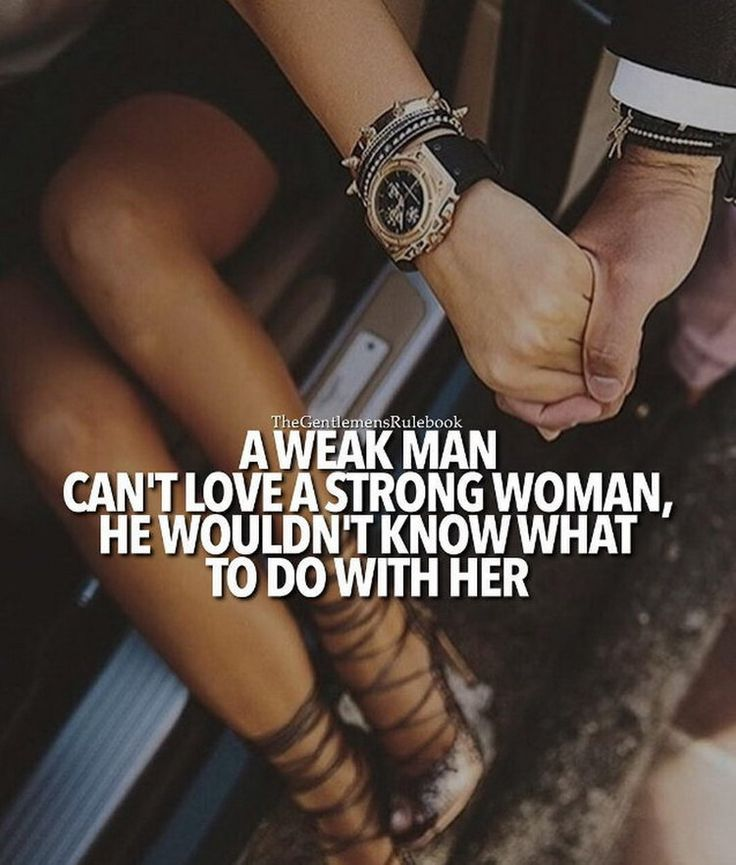 There's nothing like a strong independent woman .