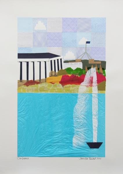 Canberra- Jennifer Baird. Found her beautiful art at the Old Bus Depot Markets in Kingston.