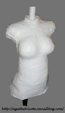 fabriquer un mannequin à vos mesures