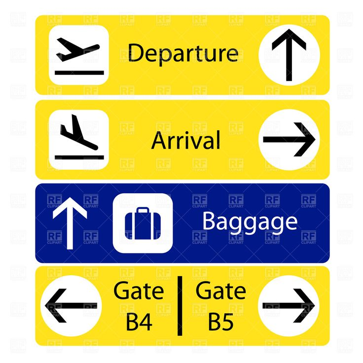 airport signs - Google Search                                                                                                                                                                                 More