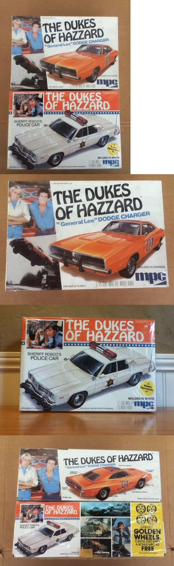 Dukes of Hazzard 20908: Vintage Original Dukes Of Hazzard General Lee Rosco Police Car 1 25 Model Kits -> BUY IT NOW ONLY: $59 on eBay!