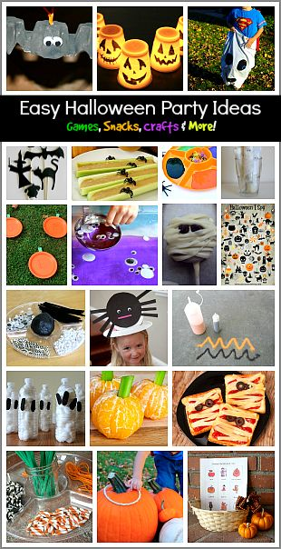 Easy Halloween Party Ideas for Kids! (Games, Activities, Crafts, & Treats!)~ BuggyandBuddy.com
