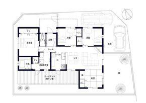 建築設計施工 ライフ・ストレージ・マネジメント株式会社:Web内覧会 #3喜仲の平屋建て