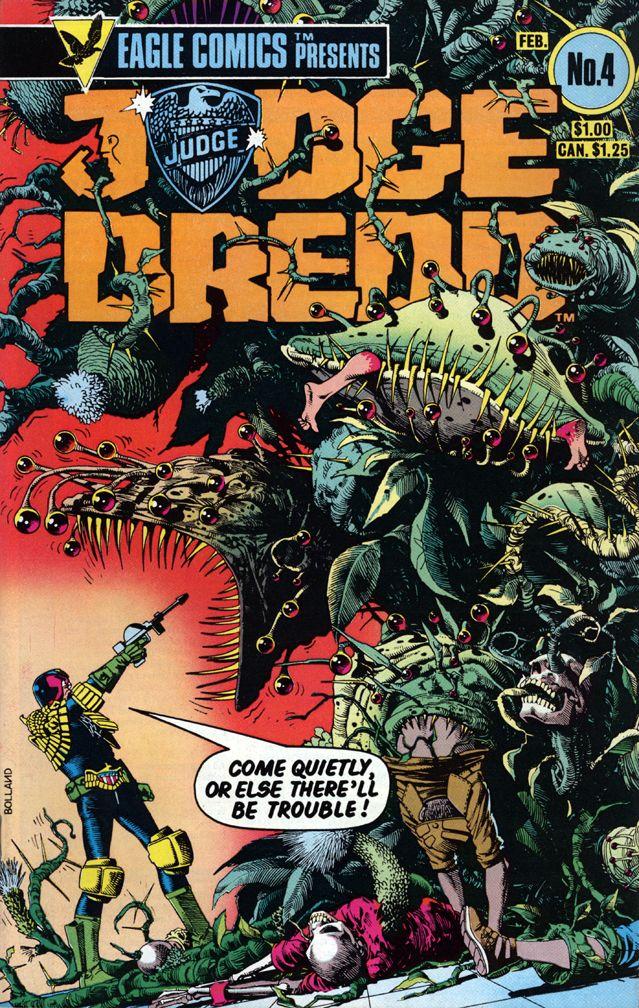 Eagle Comics 2000 AD Judge Dredd No. 4 (Brian Bolland)
