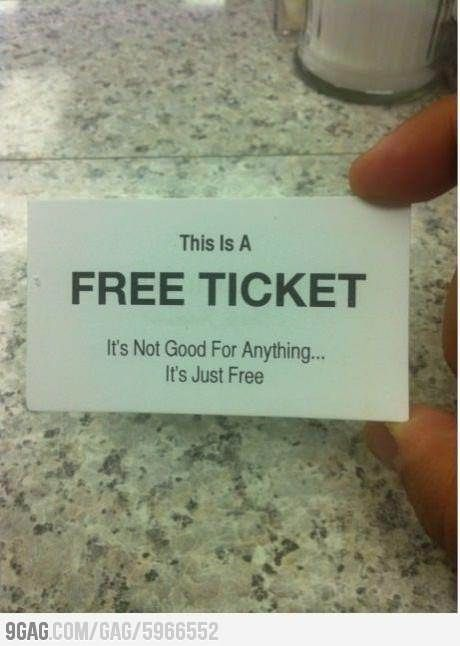 free is always good.