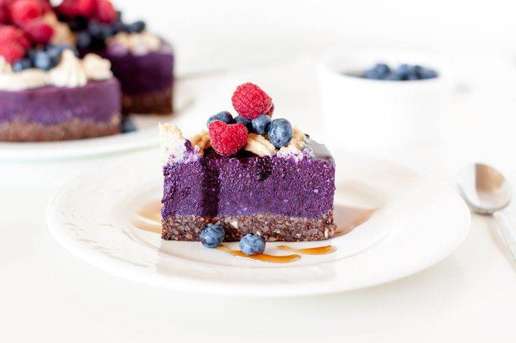 Raw borůvkový cheesecake - Fitrecepty.info - Pojďte s námi zdravě jíst a být fit!