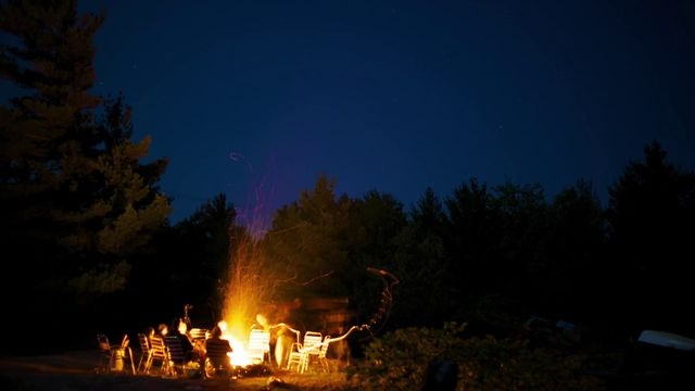 Georgian Bay Campfire by Bedouin Frame. Georgian Bay is one of my favorite places on earth. This is a time-lapse of a typical camp fire at the cottage.