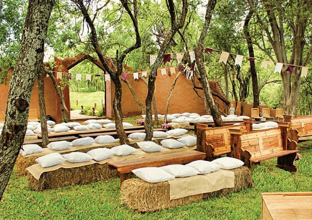 Savannah Game & River Lodge offers the perfect setting for a lovely country wedding.