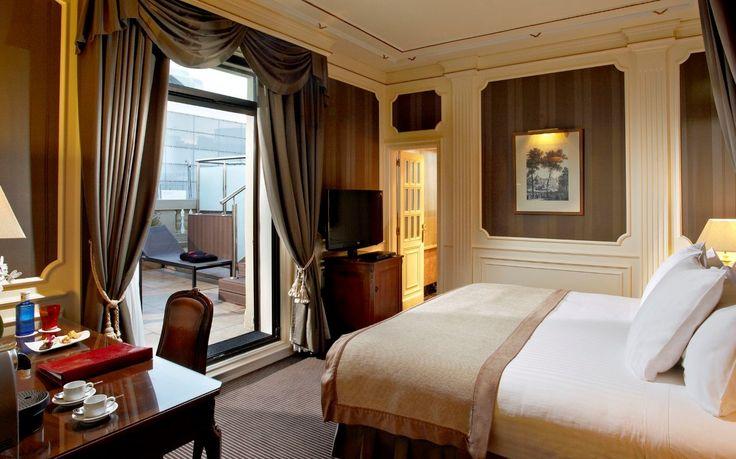 hoteles jacuzzi en la habitacion madrid gran melia fenix habitacion