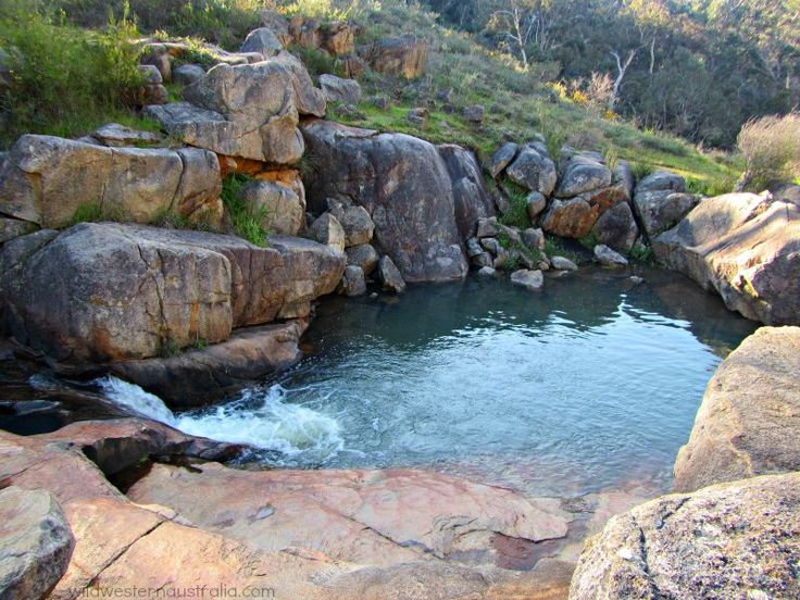 The Kalamunda Rocky Pool in the Piesse Brook Valley