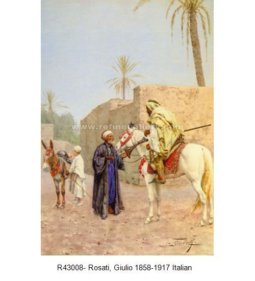 Giulio Rosati Paintings | Wholesale Oil Painting Reproductions from China