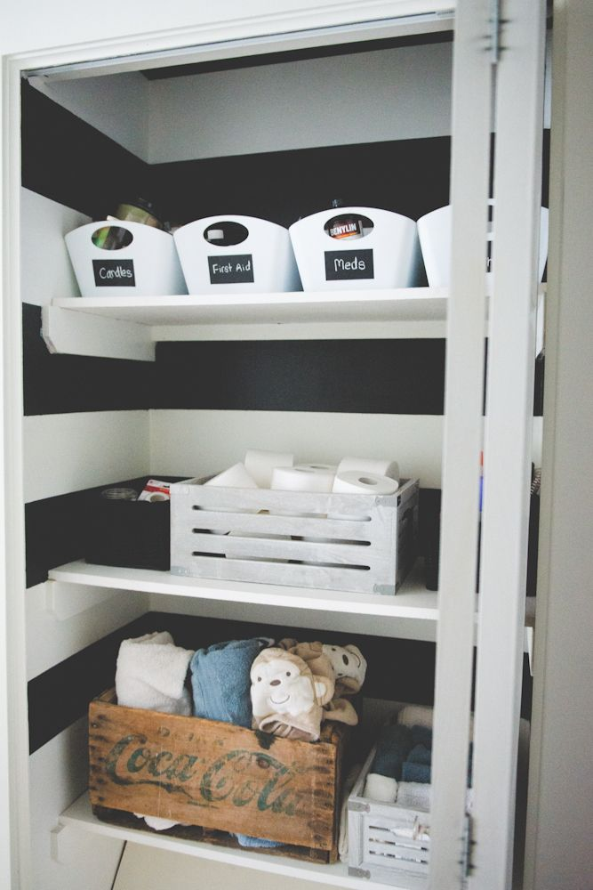 Organization: Natalie's Hall Closet