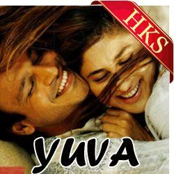 Song Name - Khuda Haafiz Movie - Yuva (2004) Singer(S) - Sunitha Sarathy, Lucky Ali, Karthik Music Director - A. R. Rahman  Cast - Ajay Devgan, Abhishek Bachchan, Vivek Oberoi, Rani Mukerji