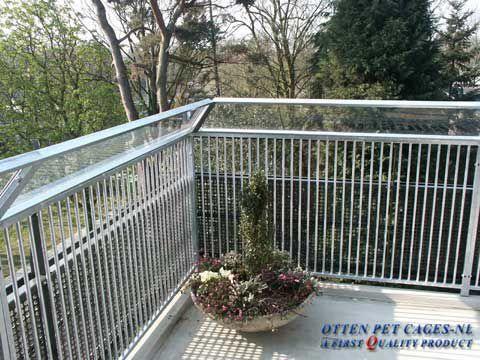 Afscherming balkon voor katten
