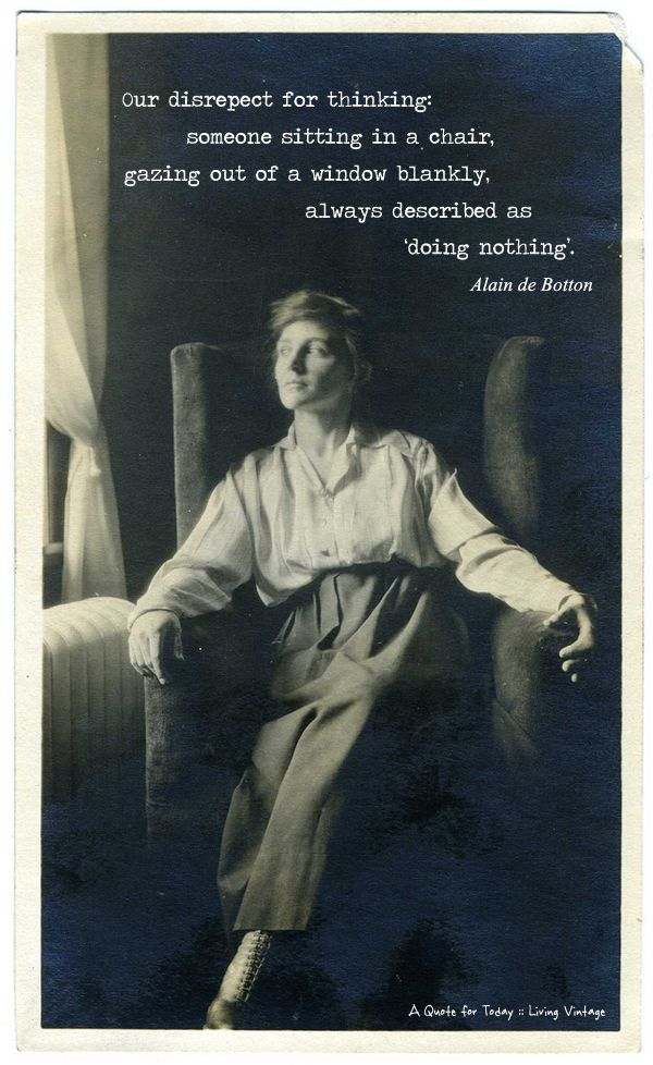 """A Quote for Today:  an excellent perspective on """"doing nothing""""  