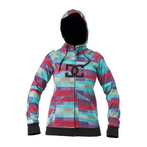 DC Women's Maxmillions Hoodie WOMENS CLOTHING at Martini Skate and Snow