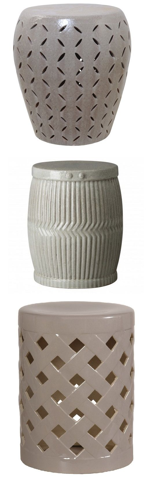 "43 best ""gray garden stool"" images on pinterest"