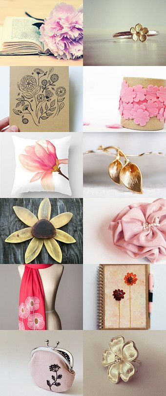 Say it with flowers by Laura on Etsy--Pinned with TreasuryPin.com