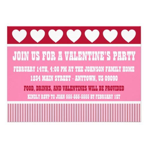 191 best Valentines Day Invitations and Cards images on Pinterest