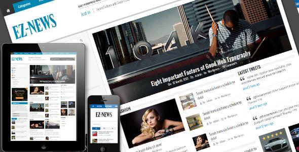 EZ-News HTML5 Template