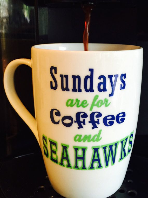 Hey, I found this really awesome Etsy listing at https://www.etsy.com/listing/232518531/seattle-seahawks-coffee-cupmug