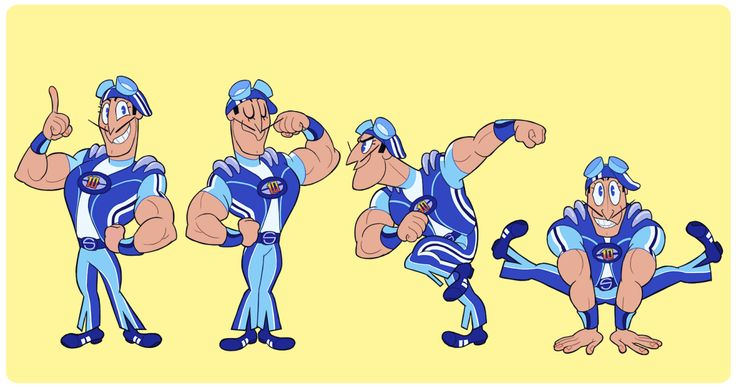 """verticalart: """" LazyTown is one of my favorite shows ever! It's just extremely well-designed and fun to watch! """""""