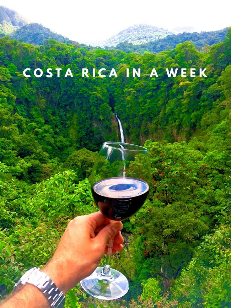 So you've landed a week of vacation. Why not visit the beautiful and zen-like Central American country of Costa Rica? Take a look at our in-depth itinerary. It's closer than you think!