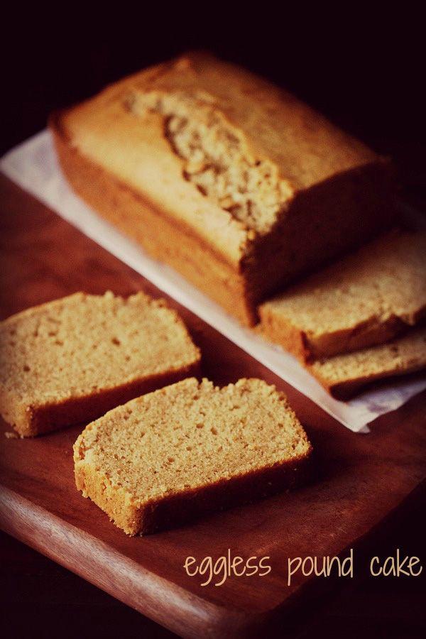 eggless pound cake recipe | whole wheat pound cake recipe