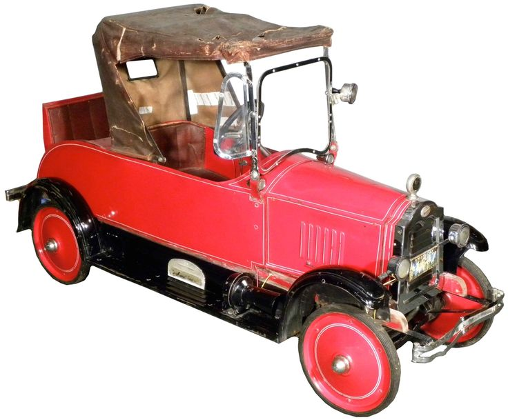*PEDAL CAR ~ This is claimed to be the only all-original, electric 1926 Packard by American National known to exist. Estimate: $27,500-$35,000