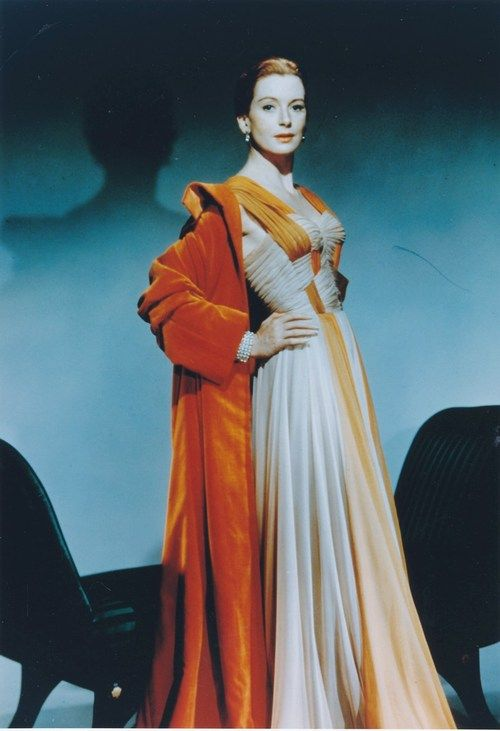 "Deborah Kerr in a costume from ""An Affair to Remember"""
