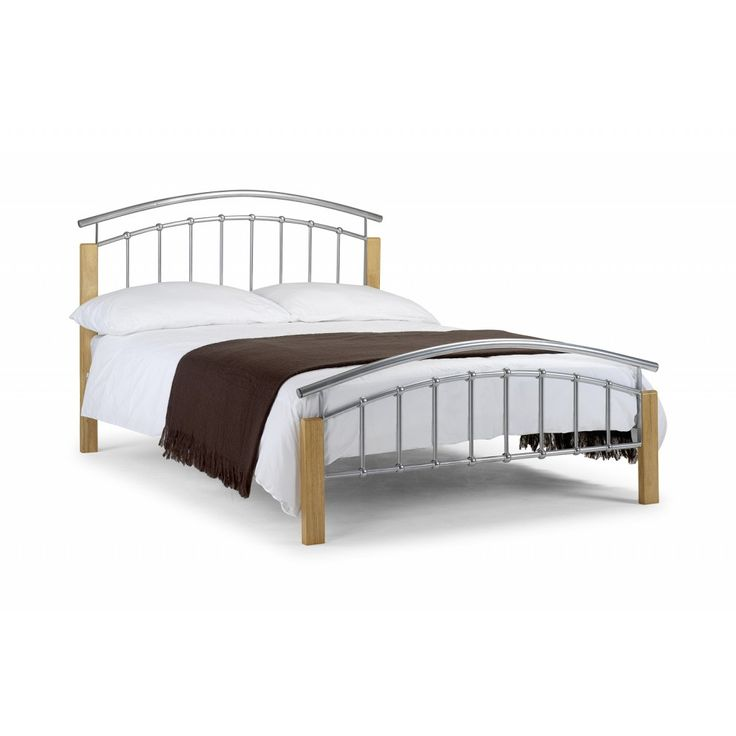 Best of Julian Bowen Aztec Wood and Metal Bed Frame from £79 95 with FREE delivery Style - Cool bedstead Model