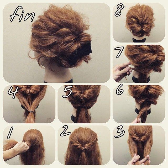 Astonishing 1000 Ideas About Easy Bun Hairstyles On Pinterest Easy Bun Bun Short Hairstyles Gunalazisus